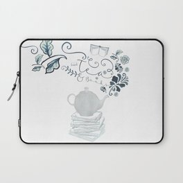Tea and Books Laptop Sleeve