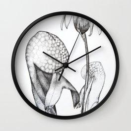 Cobra Lily Wall Clock