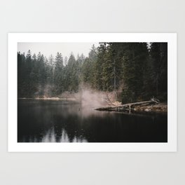 In the Fog - Landscape Photography Art Print