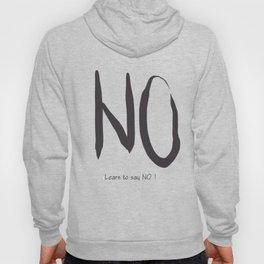 Say No ! Art print Hoody