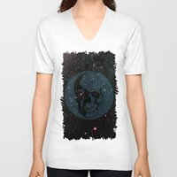dead space V-neck T-shirts featuring Dead Space by Fimbis