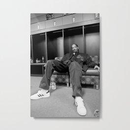 Snoop Dogg Poster Print, Singer Star, Music Poster, Wall Art Decor Print, Gangsta Rap Print, Hip Hop Print, Rapper Poster Metal Print