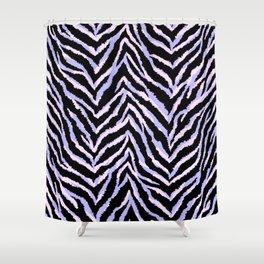 Zebra fur texture print II Shower Curtain