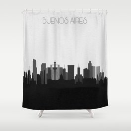 City Skylines: Buenos Aires Shower Curtain