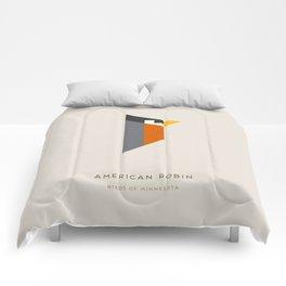 American Robin Comforters