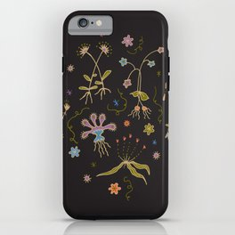Flora of Planet Hinterland iPhone Case