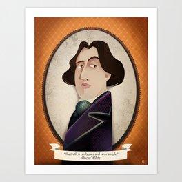 Oscar Wilde said... Art Print