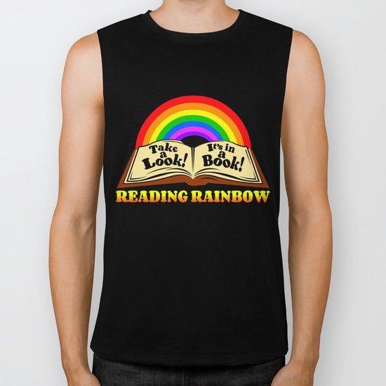 READING RAINBOW Biker Tank