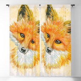 So Foxy Blackout Curtain