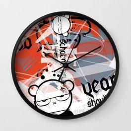 Gonzos Coded, Remixed. 2007_series03_shot07 Wall Clock