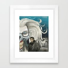 fury is the road less travelled... Framed Art Print