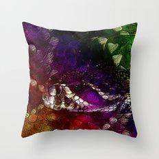 Interstellar Snake Throw Pillow