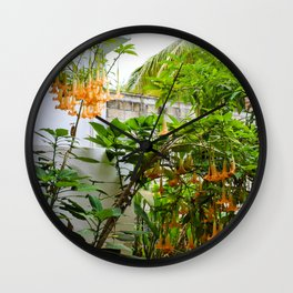 Dreamy Mexican Trumpets Wall Clock