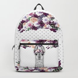 FLOWER GIRL ALPACA Backpack