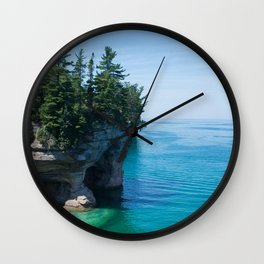 Lake Superior Wall Clock