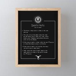 How To Use It Framed Mini Art Print