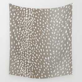 Antelope Fawn Print Wall Tapestry