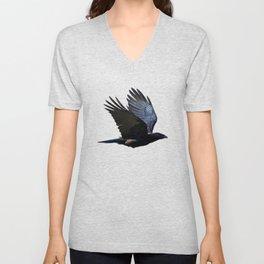 Raven's Mountain Art Print Unisex V-Neck