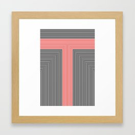 T like T Framed Art Print