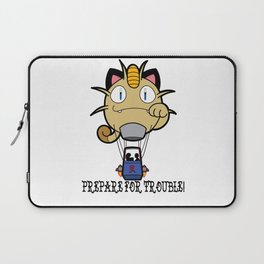 Prepare For Trouble! Laptop Sleeve