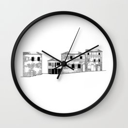 Traditional Settlement Wall Clock