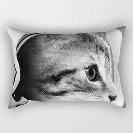 Astronaut Cat #3 Rectangular Pillow
