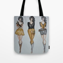 The Warrior Triplets Tote Bag