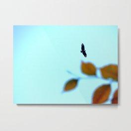Fall Flight Metal Print