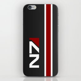 Mass Effect - N7 iPhone Skin