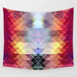 Abstract Geometric Spectrum 2 Wall Tapestry