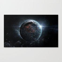 Cataclysmic Canvas Print