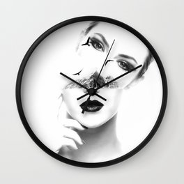 Duplicate your thought Wall Clock