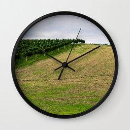 Vineyard II Wall Clock