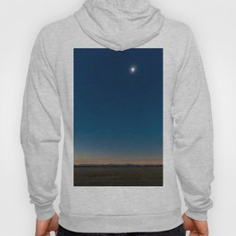 Solar Eclipse Totality Over Grand Tetons Hoody
