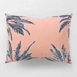 Palms (peach) Pillow Sham