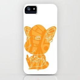 Tiki Kangaroo iPhone Case
