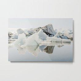 Icebergs XII Metal Print
