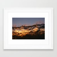 lip Framed Art Prints featuring Lip by Tom Brune
