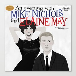 An Evening with Nichols & May Canvas Print