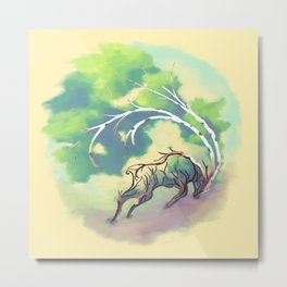 Essence of Nature - Thunderous Wind Metal Print
