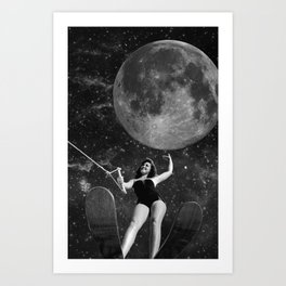 Black & White Collection -- Out There Art Print