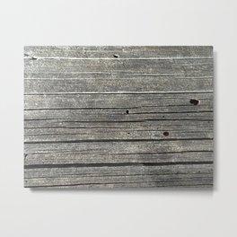 Charred Tree Metal Print