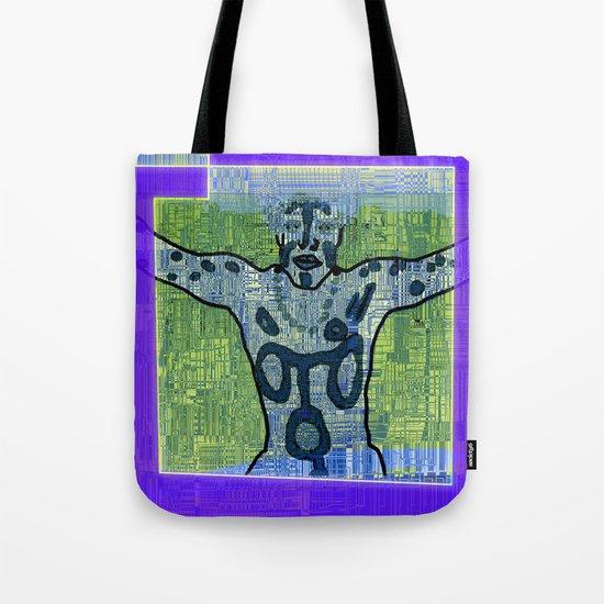 Avatars 1 - Skin Circuits 05-08-16 Tote Bag