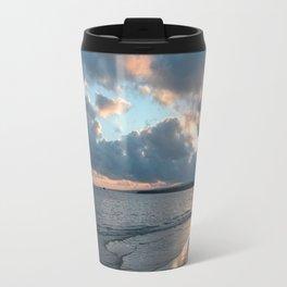 Photo 42 Ocean Sea Sunset beach Travel Mug