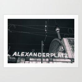 Alexander Platz Art Print