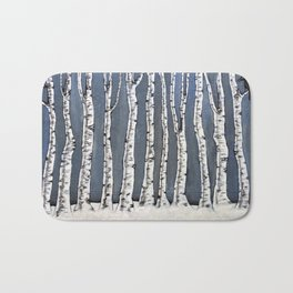 White book Bath Mat