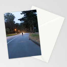 Ride Through The Light Stationery Cards