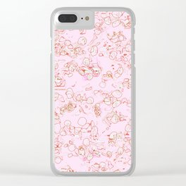 Scribble Clear iPhone Case