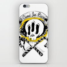 I COME IN PIECE iPhone & iPod Skin