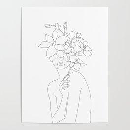 Lady Orchidea Poster